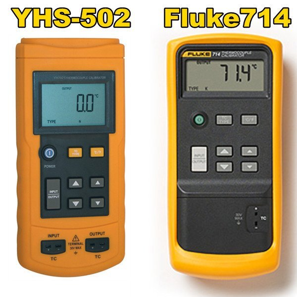 YHS-502 Similar to Fluke714 Thermocouple Temperature Signal Source Process Calibrator