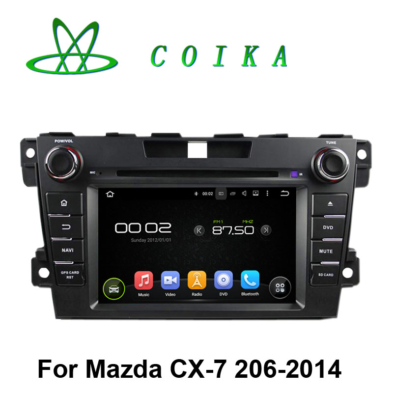 """7"""" Touch Screen Quad Core Android 5.1 System Car Stereo For Mazda CX-7 2006-2014 Radio GPS Recorder WIFI 3G OBD DVR 1024*600(China (Mainland))"""