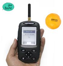 Goture Bilingual Russian / English Wireless Fish Finder 0.6-40m Fishing Depth Sounder Echo-sounder Fishfinder Fishing Tackle(China (Mainland))