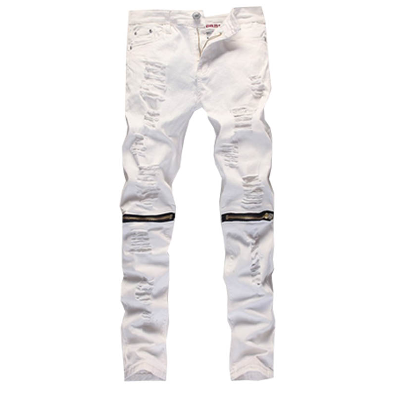 White Designer Jeans - Is Jeans