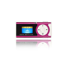 Portable Clip Digital LCD Screen MP3 Player Support 16GB Micro SD TF Card Sports MP3 Music Media Player