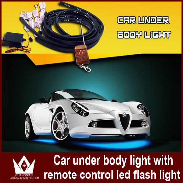 90*120 Colorful Auto chassis light kit lcar remote control car decoration ,