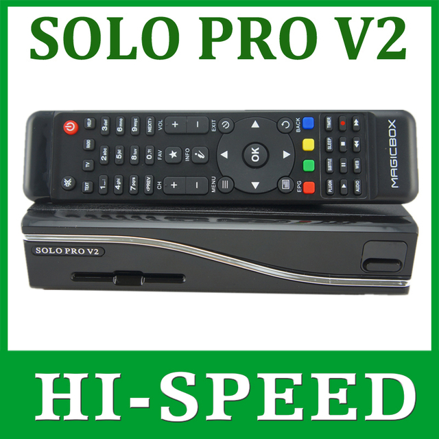 1pc Solo Pro V2 Satellite Receiver Linux System Enigma 2 Mini VU+ Solo with CA card sharing Youtube IPTV free shipping post
