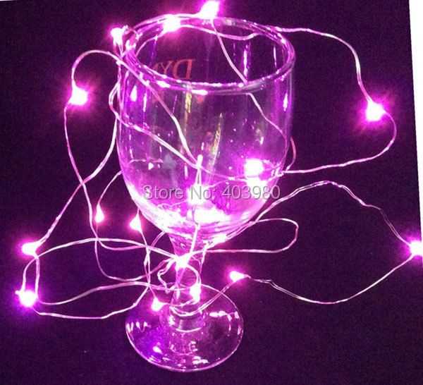 Free DHL Waterproof LED Fairy String Battery Powered Operated 2M 20 led Christmas Holiday Mini LED Copper Wire String Lights<br><br>Aliexpress