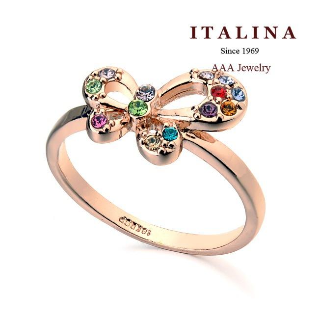 Кольцо Italina Rigant Rigant 95063 кольцо italina rigant 2015 roxi 925 18 k 2ct r497w170
