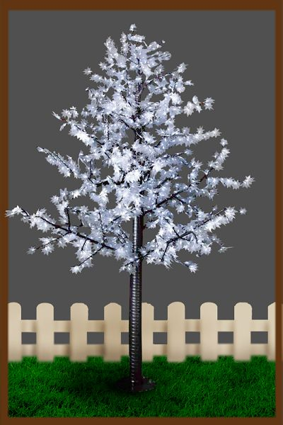 hot sell 1.5 meters led cherry tree outdoor lamp decoration tree light festive lights free shipping(China (Mainland))