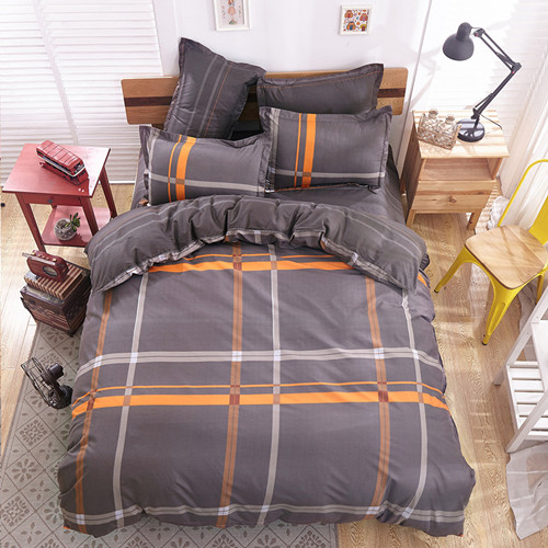 polyester microfiber Duvet Cover Set 1pc Duvet Cover 1pc Bed Sheet Set 2pcs Pillowcase Full/Queen/King Size Bedding Set(China (Mainland))