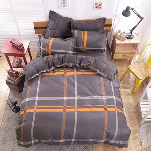 polyester microfiber Duvet Cover Set 1pc Duvet Cover 1pc Bed Sheet Set 2pcs Pillowcase Full/Queen/King Size Bedding Set(China (Mainland))