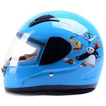 YEMA 2015 kids full face helmet fits 48-55cm head ABS shell safety motorbike helmet