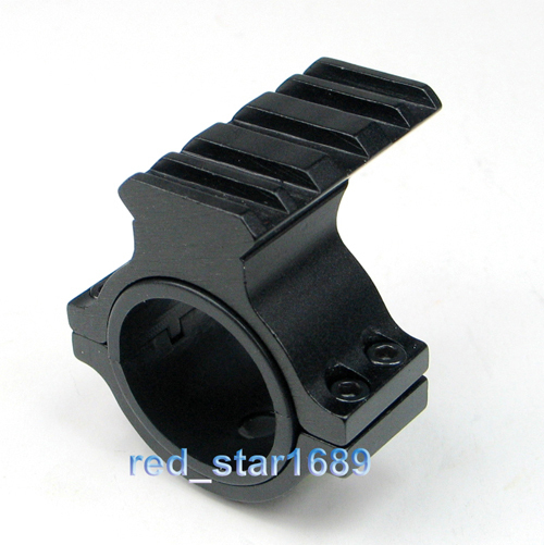 Tactical Adjustable 25.4/30mm Scope Ring Adapter with 20mm Picatinny Rail