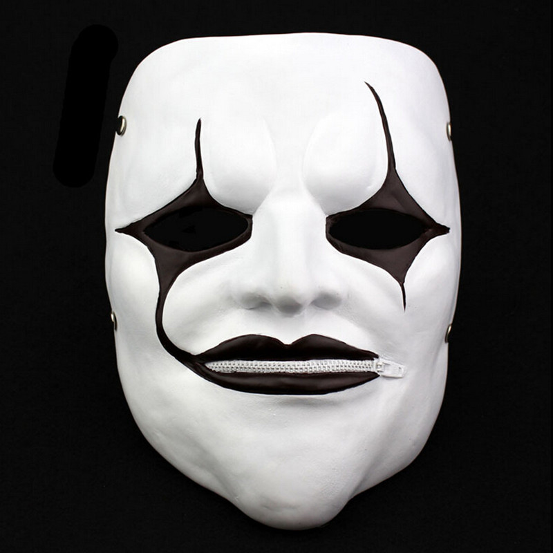 Halloween Party Scream Mask Horror Scary Zipper Mouth Mask
