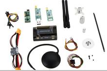 free shipping factory APM2.6 ArduPilot Mega 2.6 APM+Neo 6m GPS +Power Module+Minim OSD+915 33Mhz 3DR Telemetry for diy drone uav