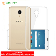 Buy Meizu M3 Note M5 Note pro5 pro6/pro6plus phone case Clear TPU Case Soft Silicon Protector Transparent Coque Koolife JY for $1.39 in AliExpress store