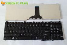 OEM US Layout Keyboard Replacement for Toshiba Satellite K000098730 K000097450 K000097460 9Z.N4WSC.001 9Z.N4WSV.001 Black