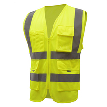 High Quality High Visibility Reflective Vest Working Clothes Motorcycle Cycling Sports Outdoor Reflective Safety Clothing(China (Mainland))