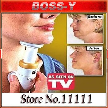 free shipping Wholesale MOQ1pcs New Neckline Slimmer As Seen On TV Neck Line Exerciser Thin - Chin massager