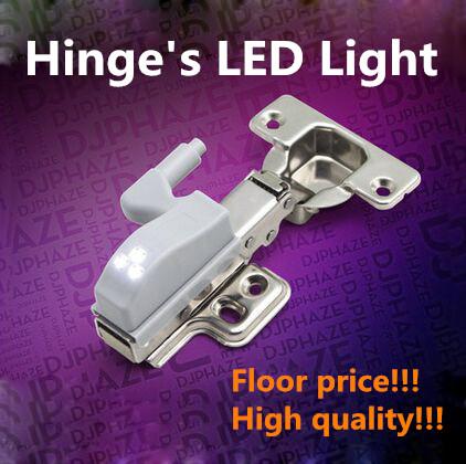10pcs Furniture hinge LED hinge light cabinet light for Kitchen Bedroom Living room Cupboard Closet Wardrobe Hinge light(China (Mainland))