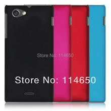 Buy hard case Sony Xperia J St26i ultra slim thin protective shell Rubber matte cover Sony Xperia J St26i MOQ1 for $1.89 in AliExpress store