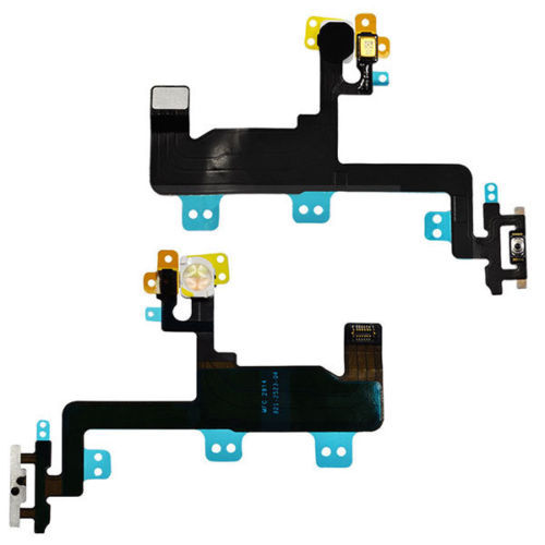 5Pieces OEM Power Switch On/ OFF Flex Ribbon Cable Replacement Part for iPhone 6 4.7