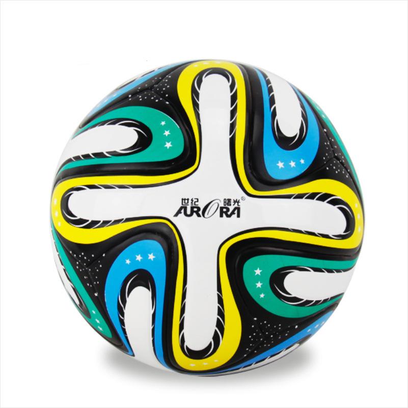 2016 TPU Smooth Anti-slip Euro Standard Soccer Training Ball Men's New Top PU Football Ball Official Size 5 Match Seamless Balls(China (Mainland))