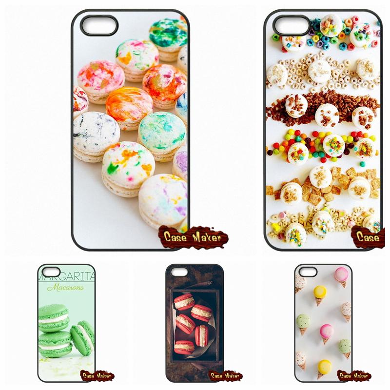 dessert ice cream Macarons Phone Case Cover Coque Samsung Galaxy 2015 2016 J1 J2 J3 J5 J7 A3 A5 A7 A8 A9 Pro  -  Ten End Cases store