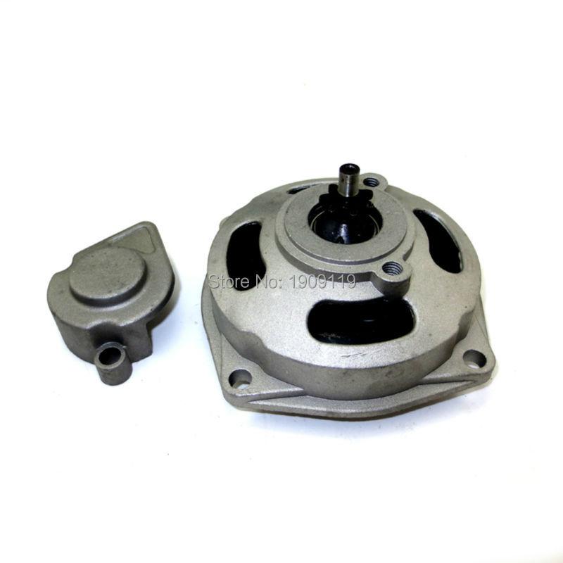 Free Shipping 7Teeth 25H 47CC 49CC Clutch Bell /Drum Housing Gear Box Fit To Mini Moto Pocket Bike Quad ATV Parts(China (Mainland))