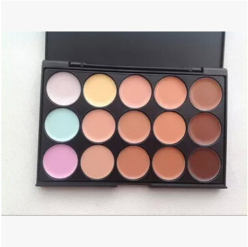2015 professional 15 color brighten concealer naked blush palette maquillage de marque Bronzing paleta de corretivo(China (Mainland))