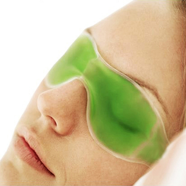 Fashion Summer /Winter Essential Sleep Beauty Ice Goggles Remove Dark Circles Eye Fatigue Gel Eye Masks Color Random(China (Mainland))