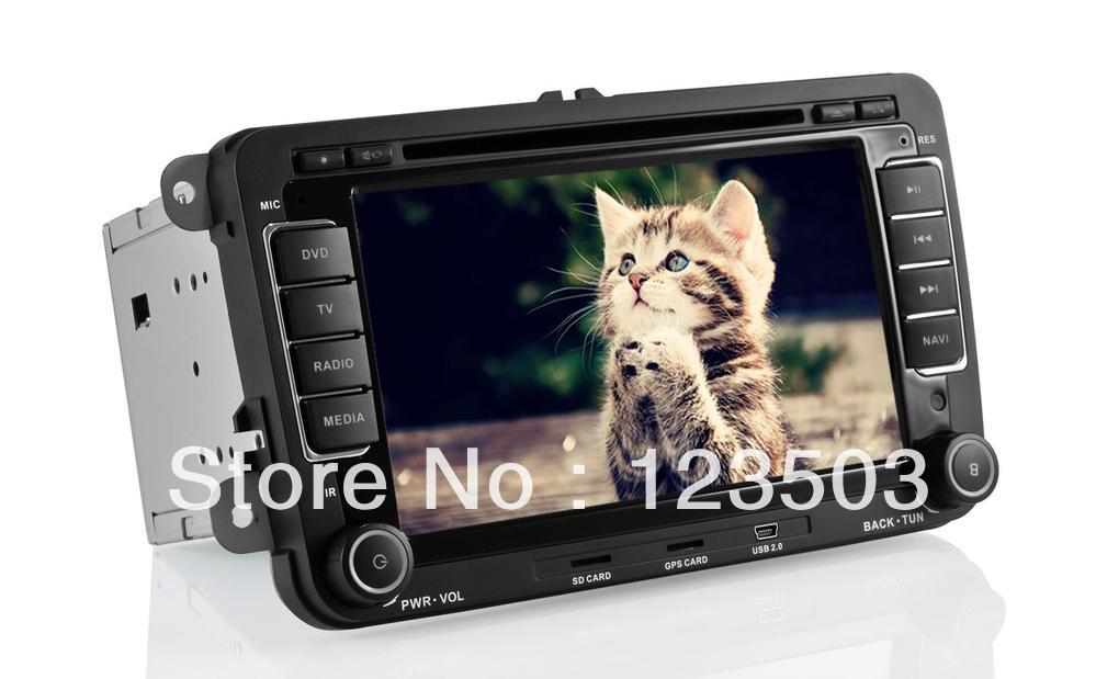 7Inch Vw Passat DVD Player Built-in DVB-T(MPEG-4) /Ipod/GPS Navigation/FM/AM Radio/AUX/HD 1080P Playing/Wheel control(China (Mainland))