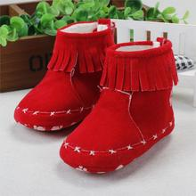 New winter Baby Shoes Girl Boy First Walkers Baby Shoes Soft Bottom Prewalker Warm baby boots newborn toddler shoes r8151(China (Mainland))