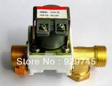 "1pcs New Electric Solenoid Valve Water Air N/C 12V DC 1/2""(China (Mainland))"