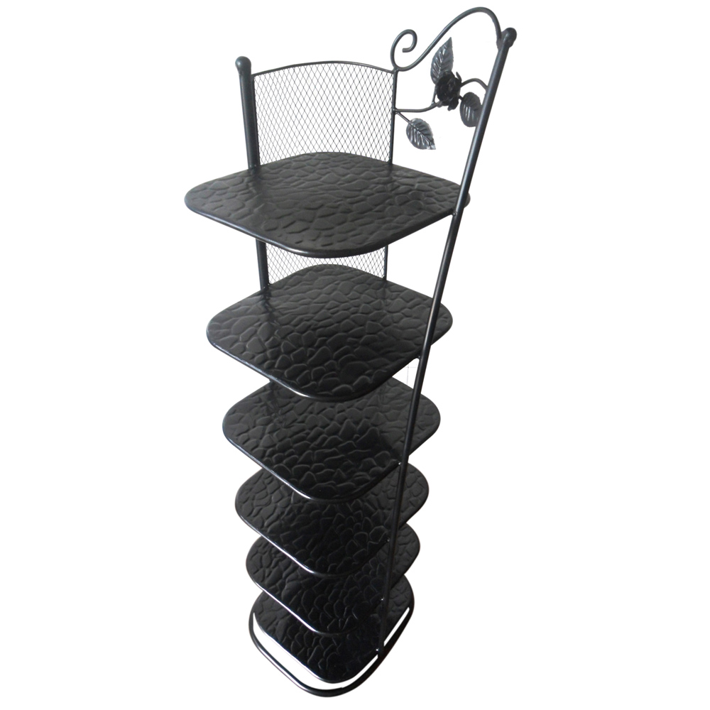 Continental Iron shoe rack multilayer slippers six floor racks small corner of seven or eight layers<br><br>Aliexpress