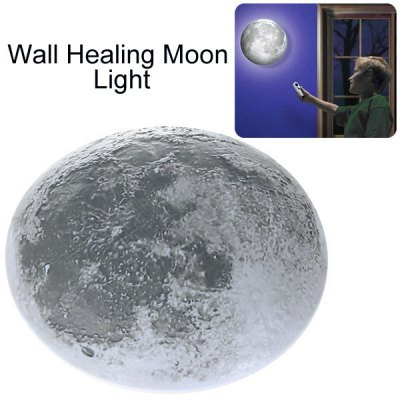 Amazing LED Healing Moon Night Light Lamp with Remote Controller(China (Mainland))