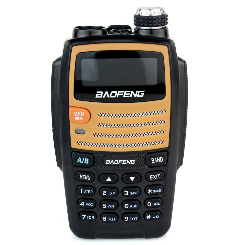 Walkie Talkie BF-530I 5W VHF+UHF 136-174 400-520MHz 128 Channels FM Radio Dual Band Dual Frequency VOX Scan Two Way Radio(China (Mainland))