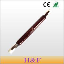 2pcs/lot New Arrival J118 220V 150W 300W 500W Infrared Halogen Lamp Bulb Tube Single Spiral for Heating Drying Quartz Tube Glass(China (Mainland))