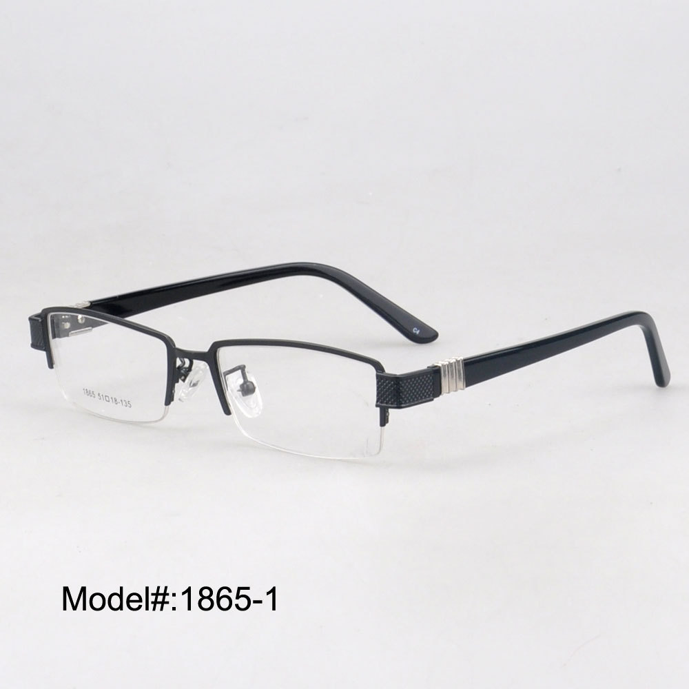 Vision Express Half Frame Glasses : Aliexpress.com : Buy 1865 Free shipping Mans half rim ...