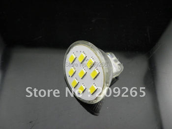MR11 2.7W 9 LED 5630 Warm White Cool White led Lamp 12V #875