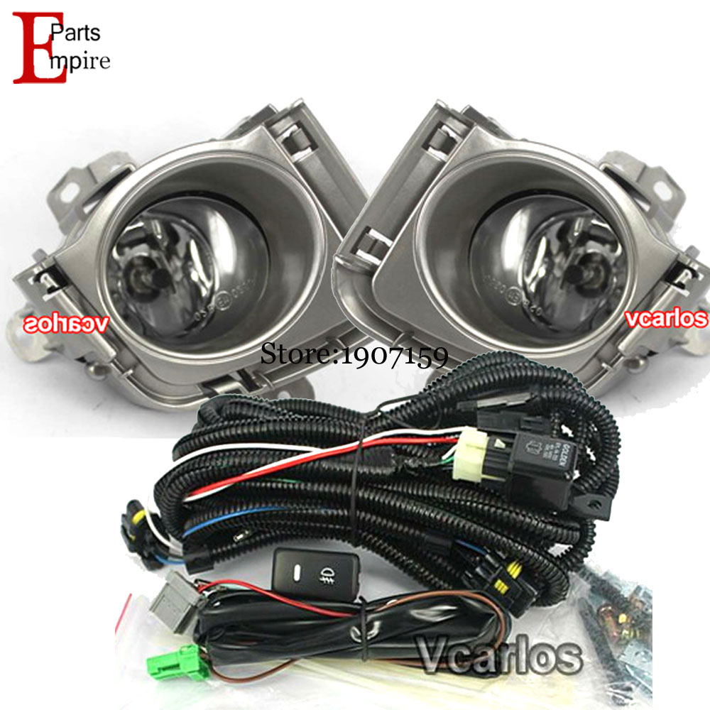High Quality 12V 55W H11 Fog lights Lamp Toyota Prius 2010~ON Clear Lens Pair Set With Wiring Kit Fog Light Set<br><br>Aliexpress