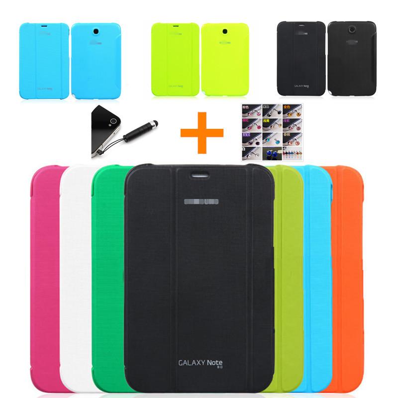 Гаджет  2014 Original Samsung Galaxy Note 8.0 N5100 N5110 BOOK Cover Ultra Slim Thin Bussiness smart Leather Stand folding Case None Компьютер & сеть