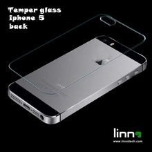 For Iphone 5 Back Glass film 9h Anti Shatter Premium Tempered glass Screen Protector for iphone 5/5S SE Free shipping