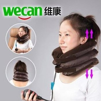 High quality ,factory price.New  PNEUMATIC  Neck Cervical Traction Brace Device For Head Shoulder Pain  Free shipping, JHB-089