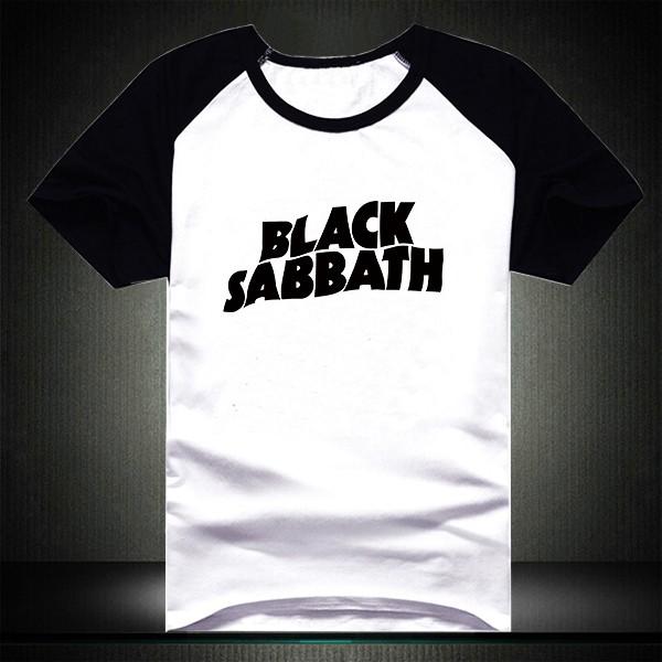 600PX Raglan Short Sleeve T-shirt Black Sabbath 2