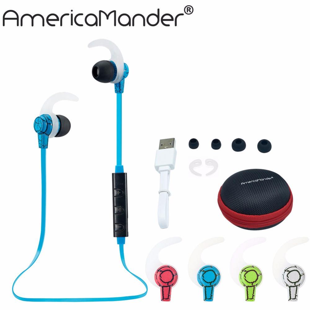 4.1 Wireless Bluetooth Earphone Headphone Bluetooth Headset Headphones Microphone AptX Sport Earphone for iPhone Android Phone(China (Mainland))