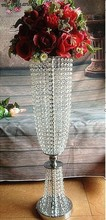 Acrylic crystal wedding road lead wedding centerpiece for table