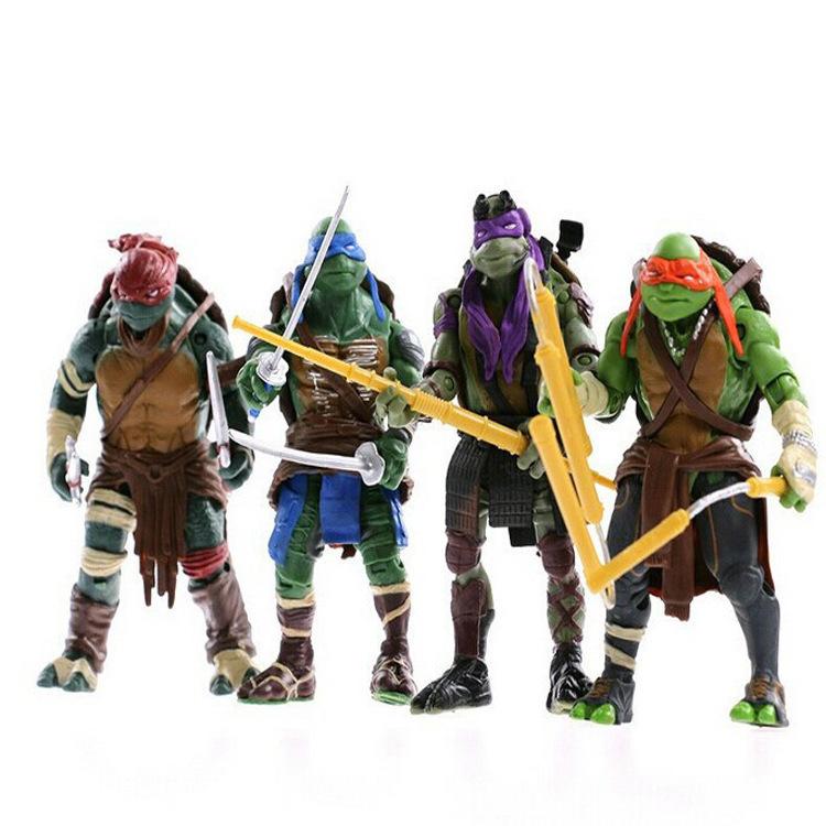 2016 New NECA Toy Teenage Mutant Ninja Turtles hasbroeINGlys Action Figure TMNT Model Toys For Boys Juguetes Gift Brinquedos(China (Mainland))