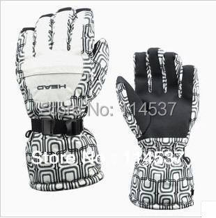 Free Shipping New foreign trade Original Order Ski gloves Winter outdoor Wind and Waterproof warm cotton gloves 12 color
