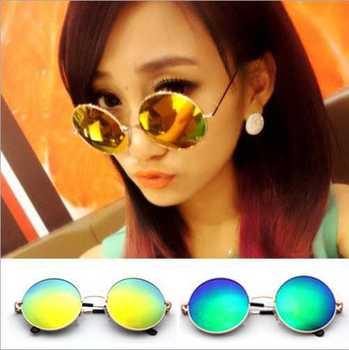 Okulary przeciwsłoneczne modne lenonki lustrzane różne kolory