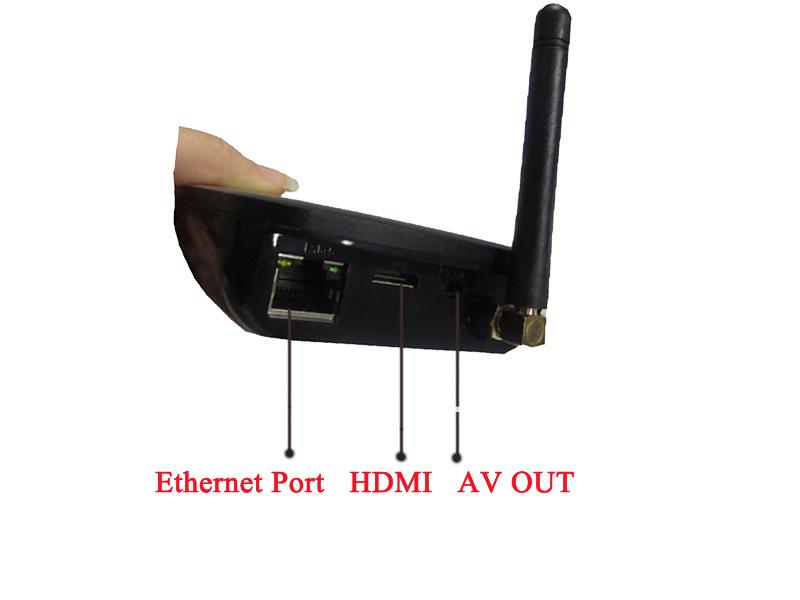Android Internet  Google TV Box Rockchip3066  Dual Core  Ethernet