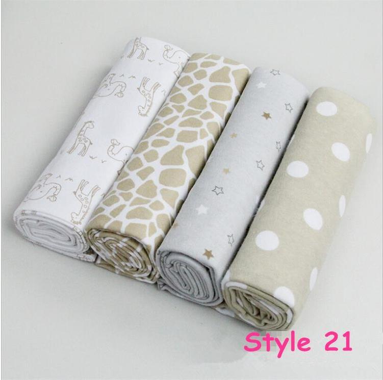4 pcs lote nouveau n drap de lit couvertures 76 x 76 cm b b literie 100 coton set pour. Black Bedroom Furniture Sets. Home Design Ideas
