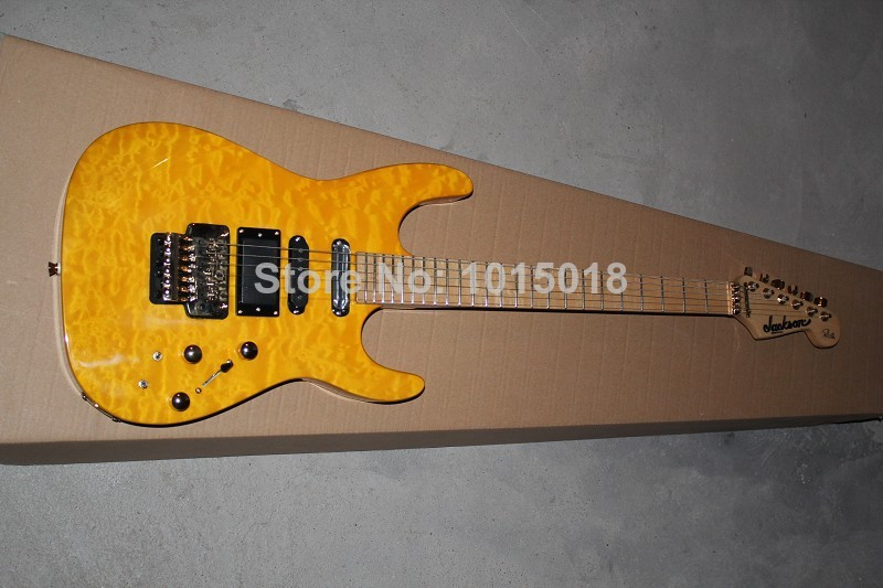 Free shipping new SL2H USA Soloist Maple neck finish inlays signature Custom Body 6 strings Jackson electric guitar huahui(China (Mainland))
